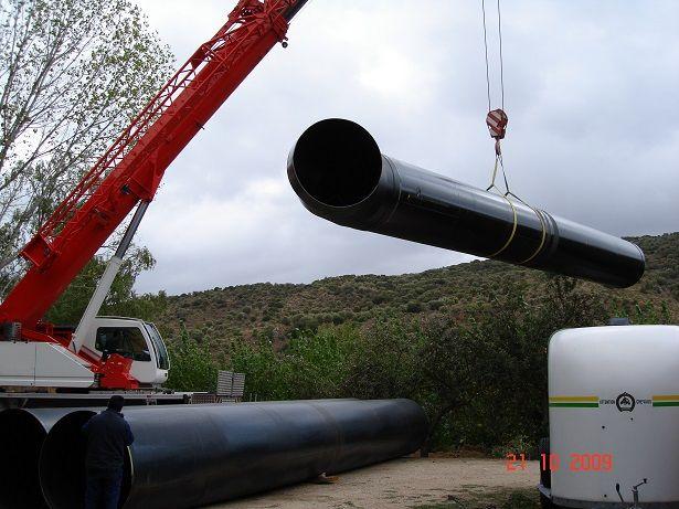 Montaje de tuberías de presión 3