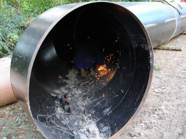 Montaje de tuberías de presión 4