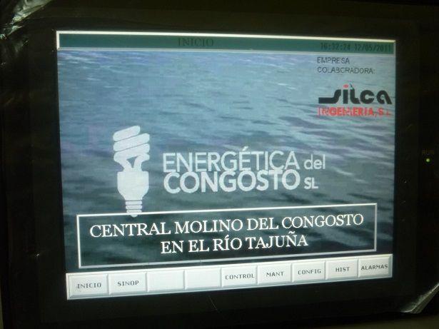 Parámetros central hidroeléctrica