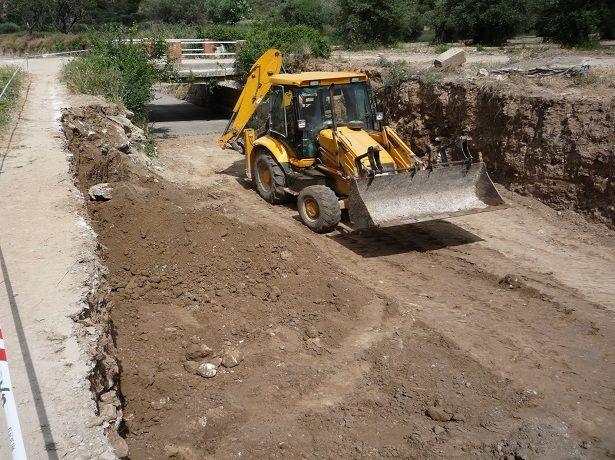 Preparación de canal de agua 1