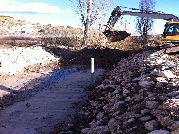Preparación de canal de agua 3