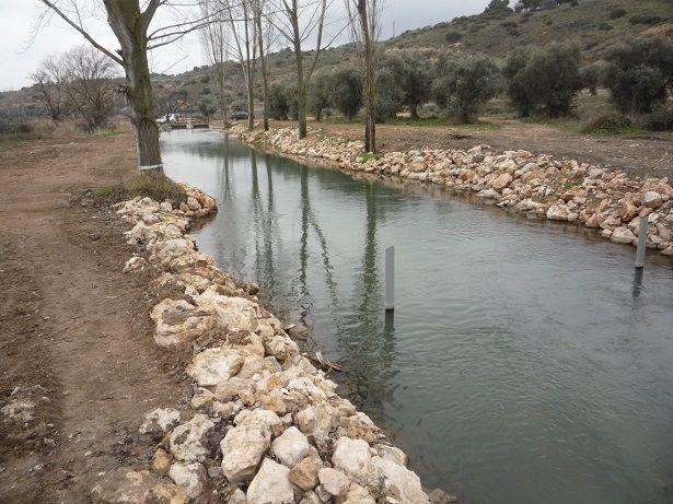 Preparación de canal de agua 5