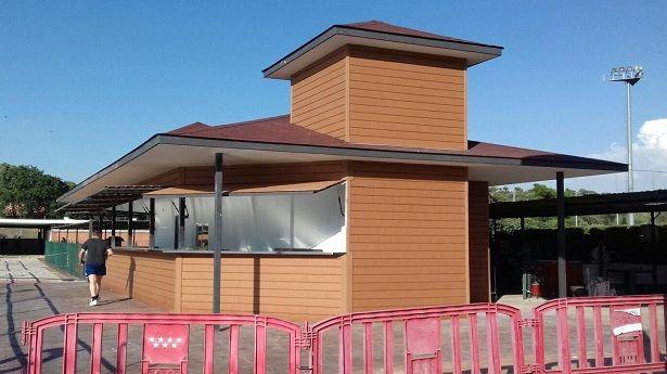 Nuevo Kiosco Club Deportivo Puerta de Hierro 2