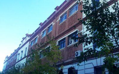 Rehabilitación de fachada de ladrillo visto en Madrid