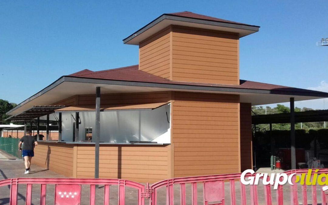 Remodelación kiosco piscina Puerta de Hierro