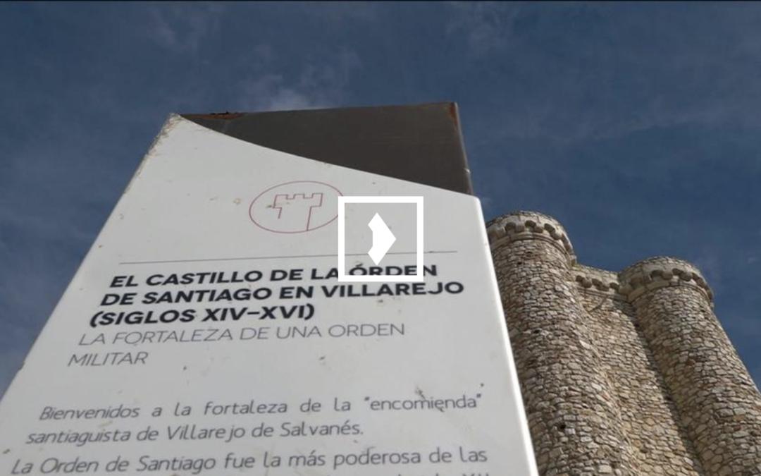Telemadrid cubre nuestra obra del Castillo